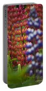 Red Lupinus Portable Battery Charger