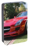 Red Mercedes Benz Portable Battery Charger