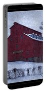 Red Mill Antique Barn Portable Battery Charger
