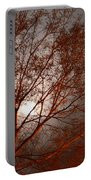 Red Oak At Sunrise Portable Battery Charger