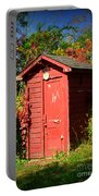 Red Outhouse Portable Battery Charger