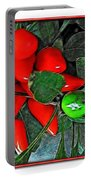 Red Pepper Plant Portable Battery Charger
