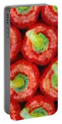 Red Peppers Portable Battery Charger