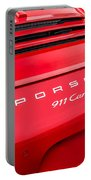 Red Porsche 911 Detail E183 Portable Battery Charger
