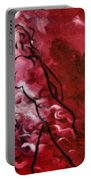 Red Psychological State Portable Battery Charger