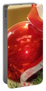 Red Reflections Portable Battery Charger