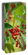 Red Ripe Berries Portable Battery Charger