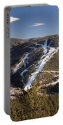Red River In Spring Portable Battery Charger