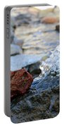 Red Rock And Crystal Water Portable Battery Charger