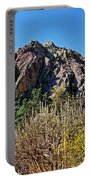 Red Rock Canyon With Foliage Portable Battery Charger