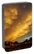Red Rock Coulee Sunset Portable Battery Charger