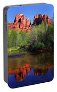 Red Rock Crossing Reflections Portable Battery Charger