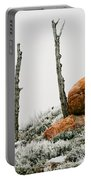 Red Rock Frost - Green Mountain - Wyoming Portable Battery Charger