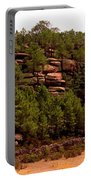 Red Rock Green Forest No3 Portable Battery Charger
