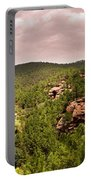 Red Rock Green Forest No2 Portable Battery Charger