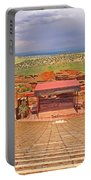 Red Rocks Park Amphitheater - Centered View Portable Battery Charger