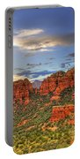 Red Rocks Sunset Portable Battery Charger