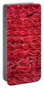 Red Rope Stack Portable Battery Charger