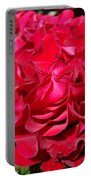 Red Rose Art Prints Big Roses Floral Portable Battery Charger