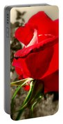 Red Rose #2 Portable Battery Charger