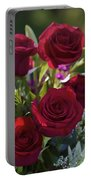 Red Roses The Language Of Love Portable Battery Charger