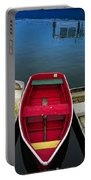 Red Rowboat Portable Battery Charger