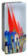 Red Sails In The Sunset Portable Battery Charger