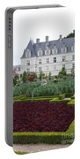 Red Salad And Cabbage Garden - Chateau Villandry Portable Battery Charger