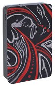 Red Skin Portable Battery Charger