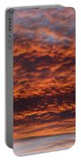 Red Sky Portable Battery Charger by Michal Boubin