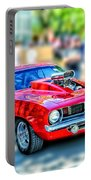 Red Sport Car Portable Battery Charger