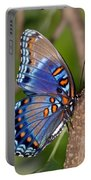 Red Spotted Purple Butterfly Portable Battery Charger
