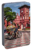 Red Square Malacca Portable Battery Charger