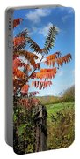 Red Sumac Tree Portable Battery Charger