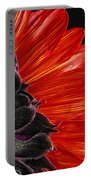 Red Sunflower Vii  Portable Battery Charger