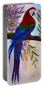 Red Tail Macaw Portable Battery Charger