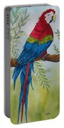 Red Tail Macaw Too Portable Battery Charger