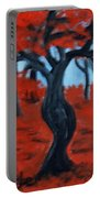 Red Trees Portable Battery Charger