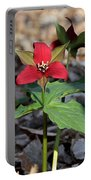 Red Trillium Portable Battery Charger