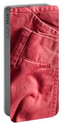 Red Trousers Portable Battery Charger