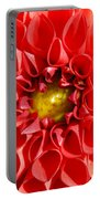 Red Tubular Flower Portable Battery Charger