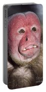 Red Uakari Portable Battery Charger