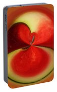 Red Watermelon Portable Battery Charger