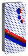 Red White And Blue Portable Battery Charger