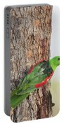 Red-winged Parrot Portable Battery Charger