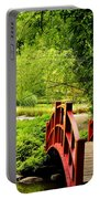 Red Wooden Bridge Portable Battery Charger