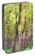 Redbud Cercis Canadensis Trees Portable Battery Charger