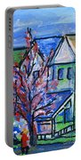 Redbud Tree At West Cape May Portable Battery Charger