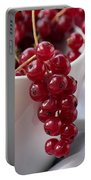 Redcurrant Close Up Portable Battery Charger