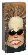 Ginger In Sunglasses Portable Battery Charger
